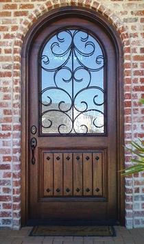 Radius Wood Doors & iron doors Entrada Iron and Wood Doors Dallas TX Wood Doors