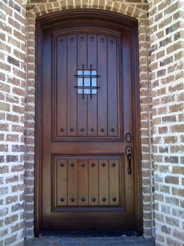 Beau Eyebrow Wood Doors