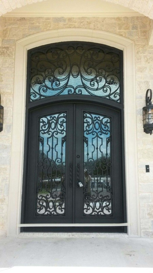 Merveilleux Iron Doors, Entrada Iron And Wood Doors Dallas, TX Home